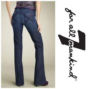 7 FAM Flynt Bootcut Jeans 27x34